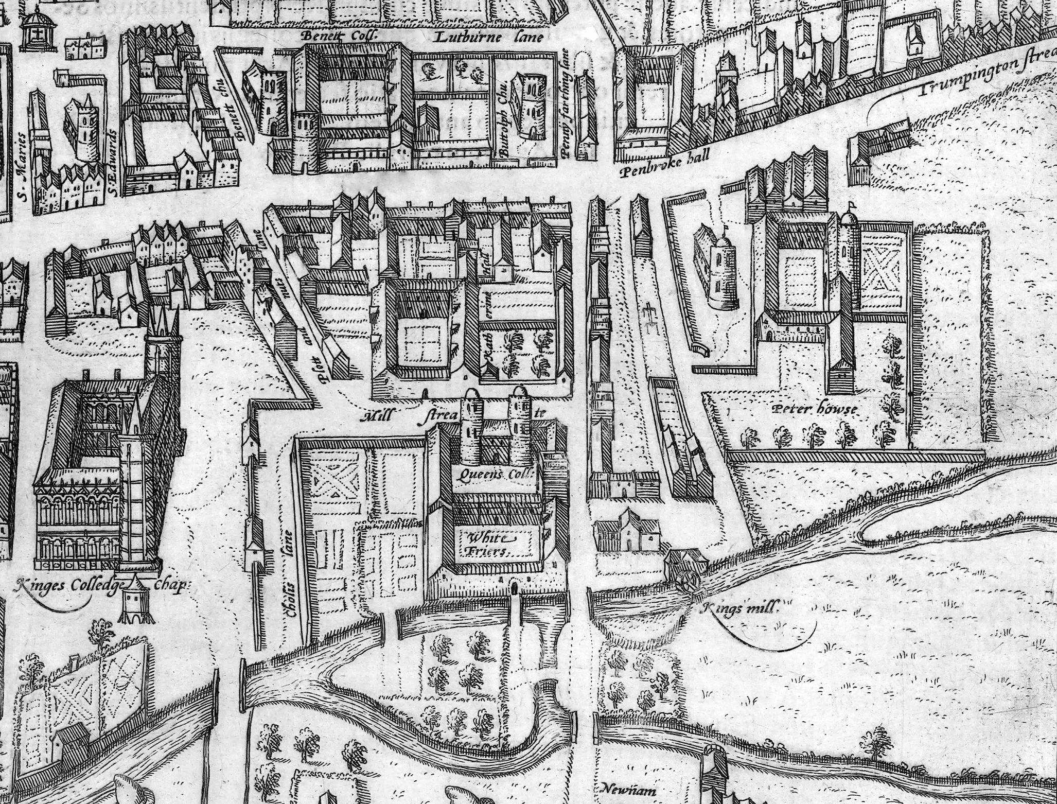 Cantabrigia Geographia: Cambridge in Maps 1574
