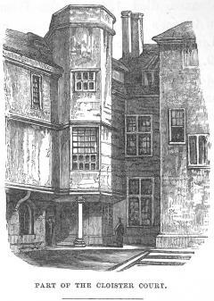 Cloister Court NE ca 1837-42