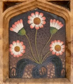 Daisies in overmantel