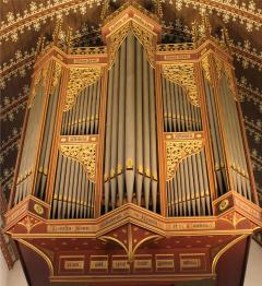 Queens' College, Chapel Organ