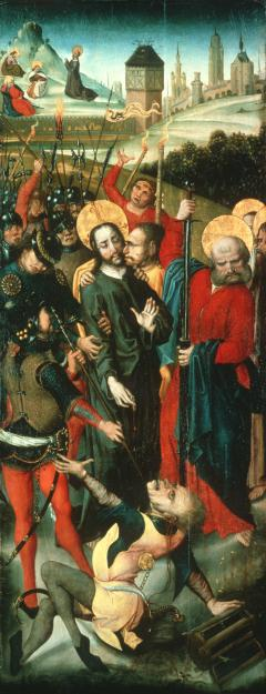 Triptych left panel