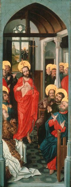 Triptych right panel