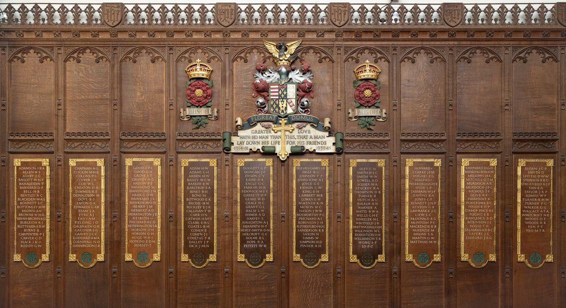 Photo of War Memorial in Chapel