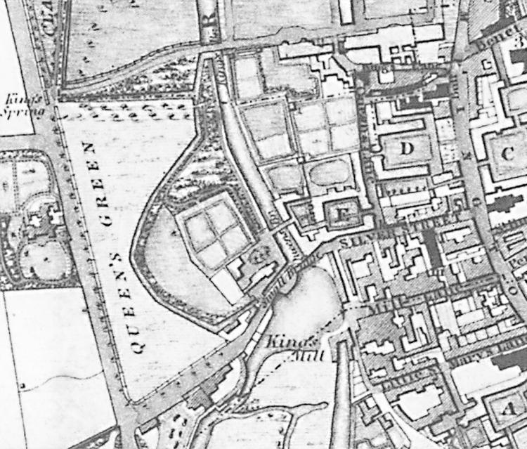 Baker's map 1830