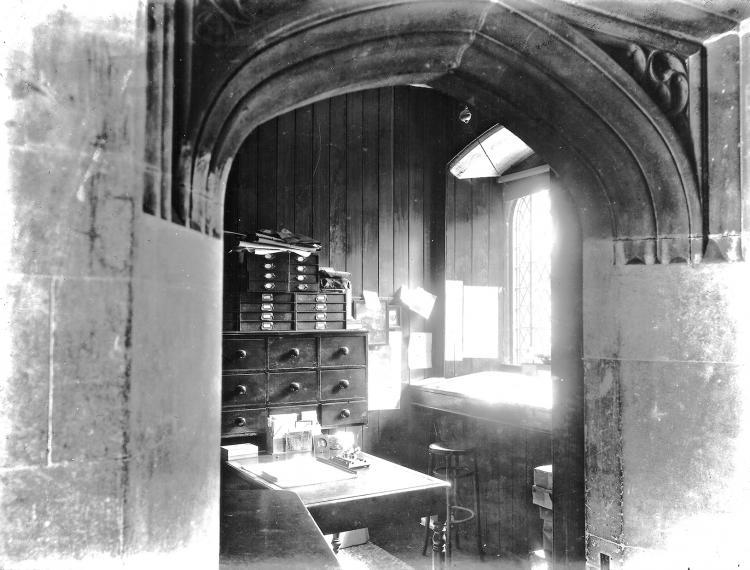 Butler's Office 1912