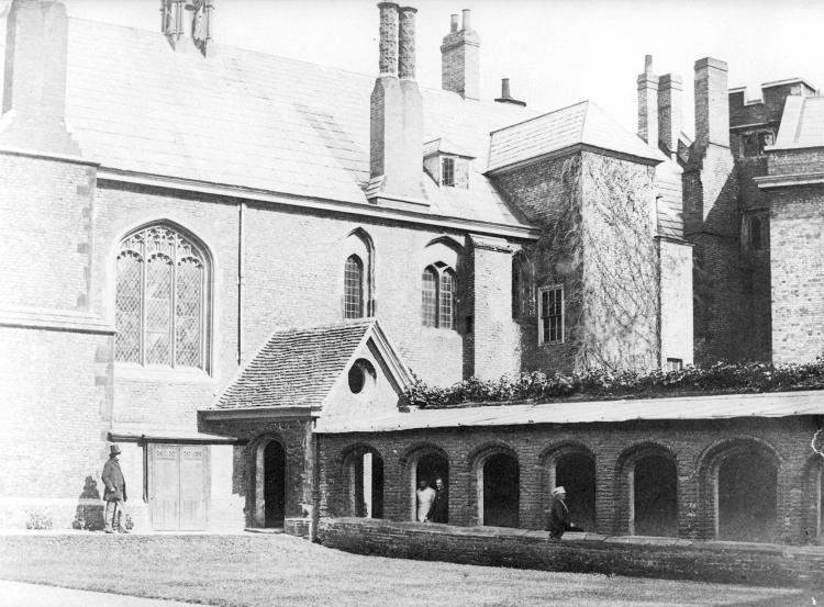 Cloister Court 1857