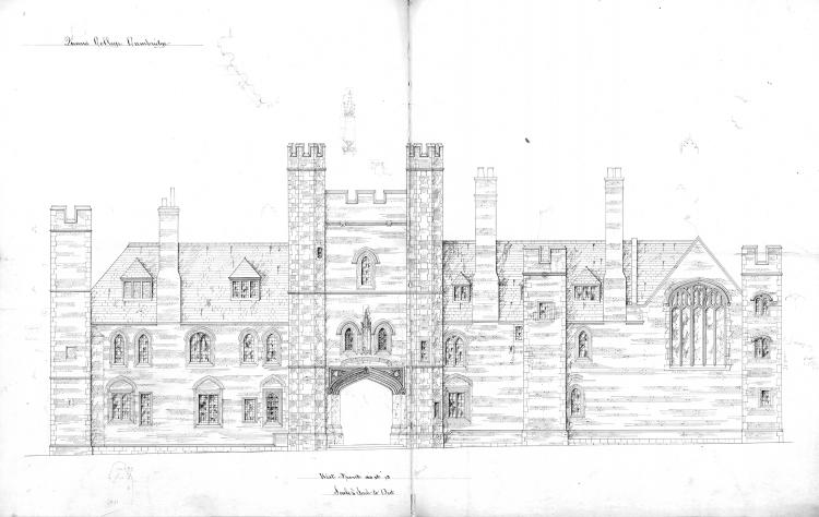 East frontage 1874