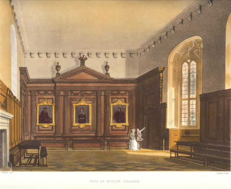 Hall, by Ackermann, 1815