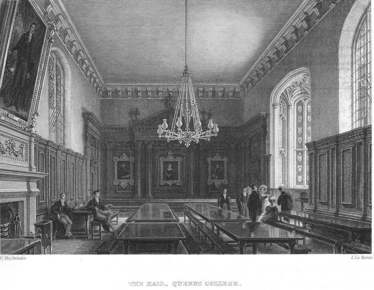Hall, Le Keux, 1842