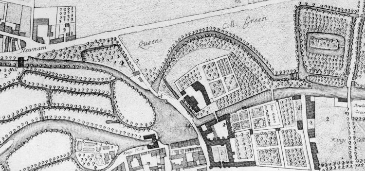 Map of mills 1688