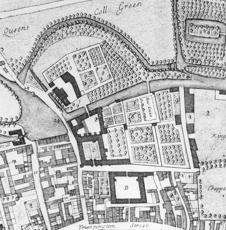 Loggan plan 1688