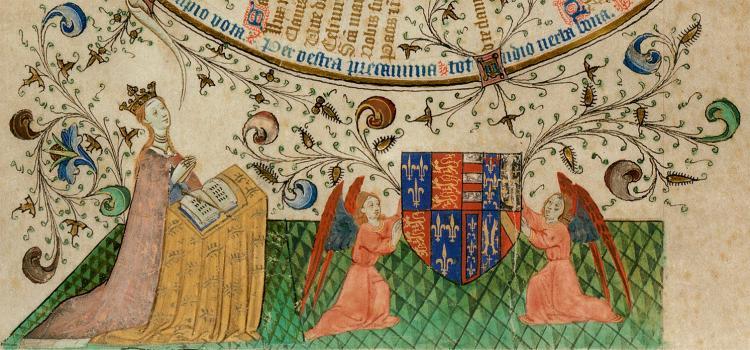 Margaret of Anjou prayer-roll