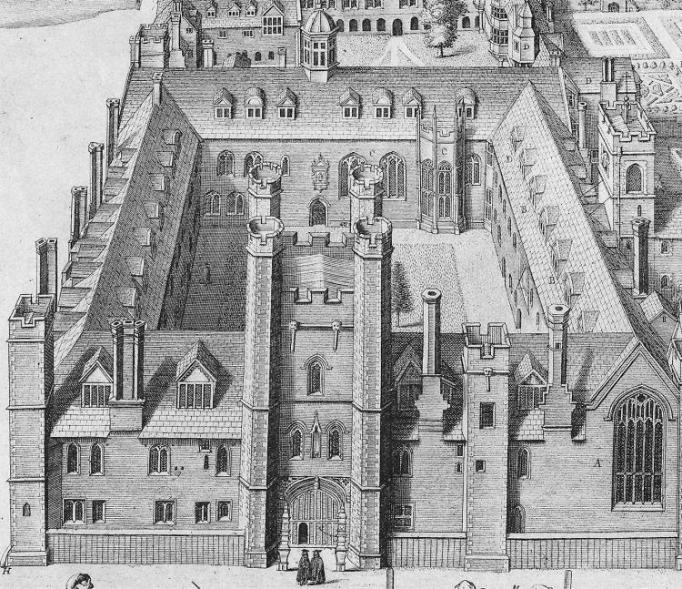 Old Court - Loggan detail 1685