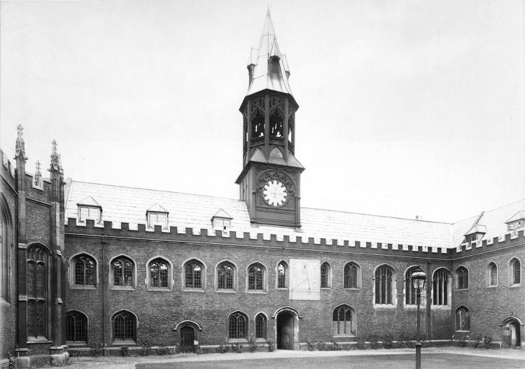 Old Court north range - photo 1891