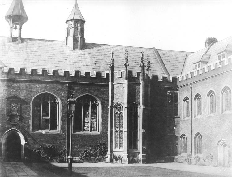 Old Court - west range 1857
