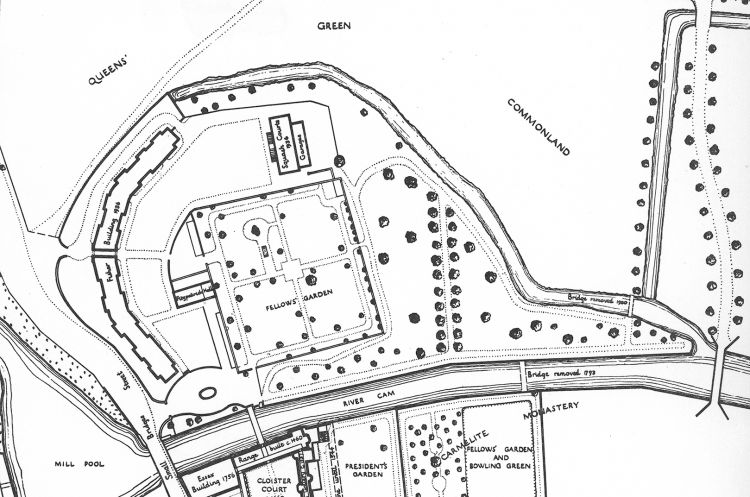 Plan of ditch 1948