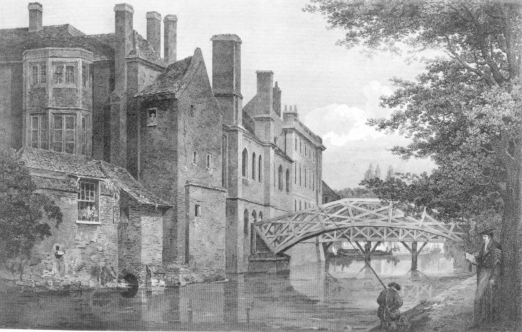 Bridges and riverside - Burford 1824
