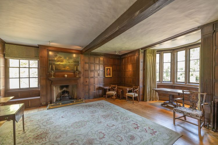 Photo of lodge sitting room