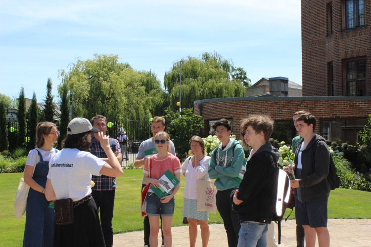 Photo of Admissions Open Day at Queens' College
