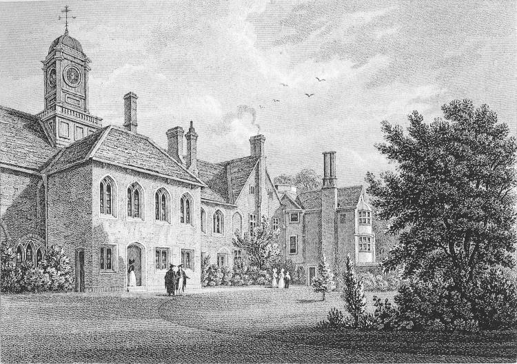 Walnut-Tree Court Library - Storer 1829-32