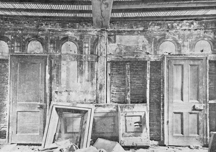 Photo of 1909 works to ground floor of Walnut Tree building