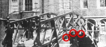 Mathematical Bridge, mid-1860s