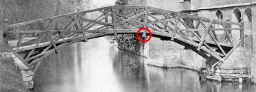 Mathematical Bridge early 1850s