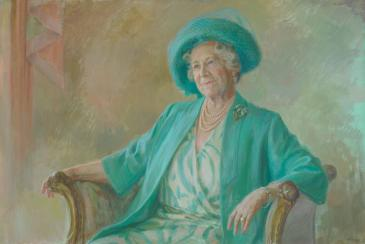 Queen Mother portrait
