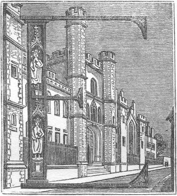 East frontage 1822