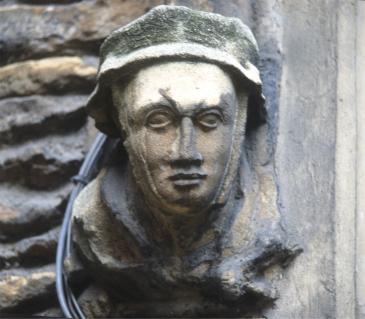 Corbel depicting Henry VI ?