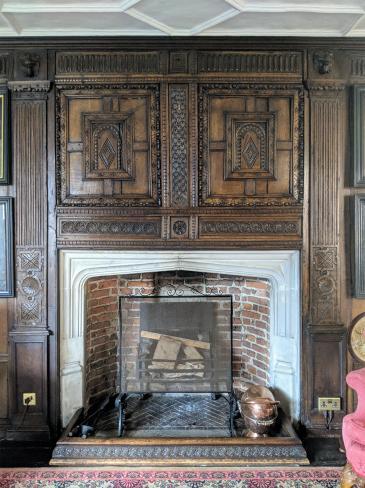 Long Gallery fireplace