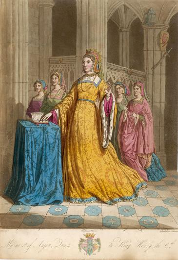 Margaret of Anjou © Mary Evans Picture Library/Alamy Stock Photo