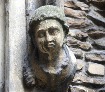 Corbel of Margaret of Anjou ?