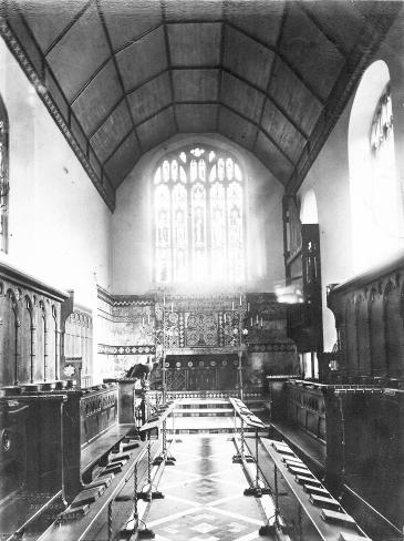 Old Chapel after 1871/72 changes