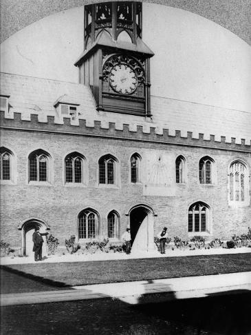 Old Court north range - photo ca 1857