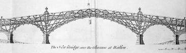 Old Walton Bridge 1750