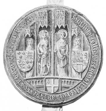 Second seal of Queens' College