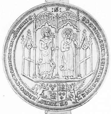 Seal of Queens' College 1529