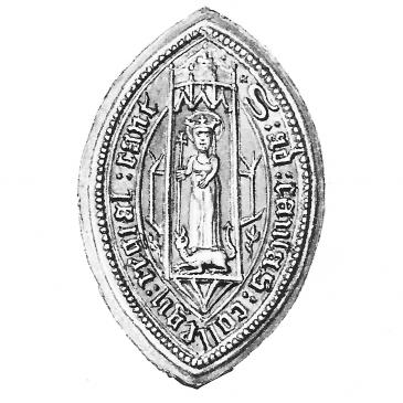 Queens' College seal ca 1570