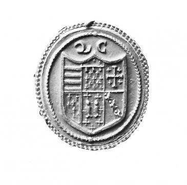 Queens' College seal ca 1580