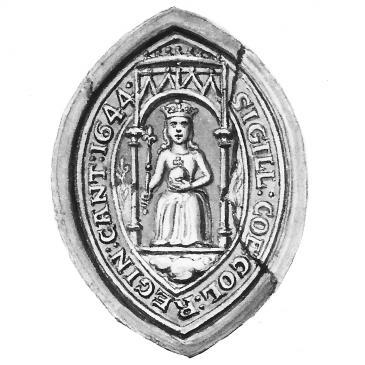 Queens' College seal 1644
