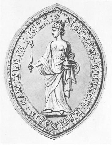 Queens' College seal 1675