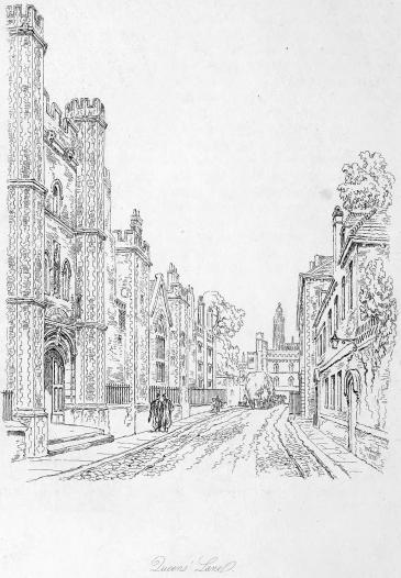Queens' Lane 1833
