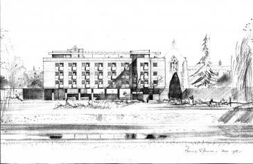 Spence design 1958 Feb