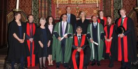 Photo of the Fellows' Admissions Ceremony, Queens' College